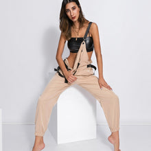 Load image into Gallery viewer, Adjustable Sleeveless High Waist Straps Jumpsuit
