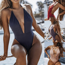 Load image into Gallery viewer, New 2019 Monokini Push Up