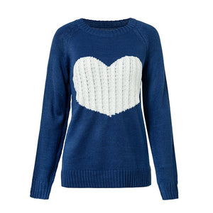 Heart Patchwork Sweater