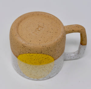 Yellow Dot Mug