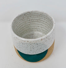 Small Teal Blue Pot