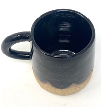Black Scallop Mug
