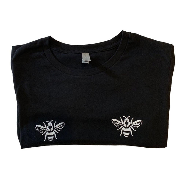 Double Bee Shirt-shirts-Honey Feast-Honey Feast