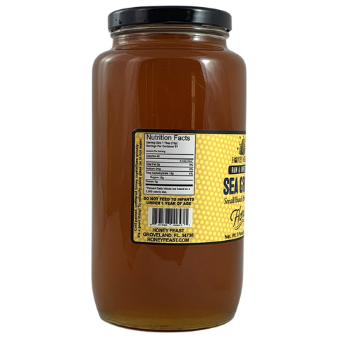 Sea Grape Honey Raw and Unfiltered