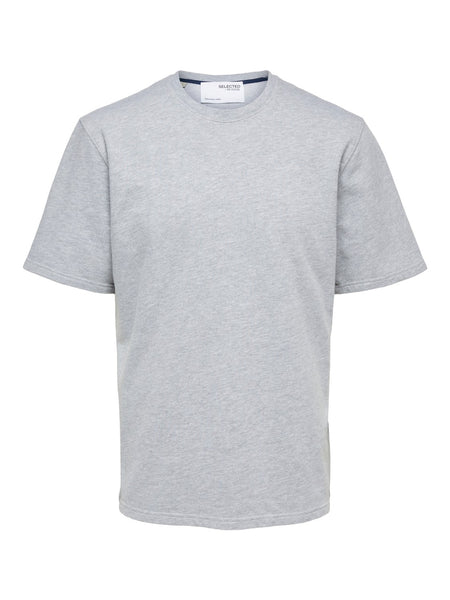 T-shirt Relax Alfred Grey - Selected