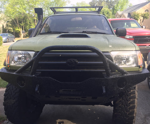 olive green black toyota 4runner full exterior coating