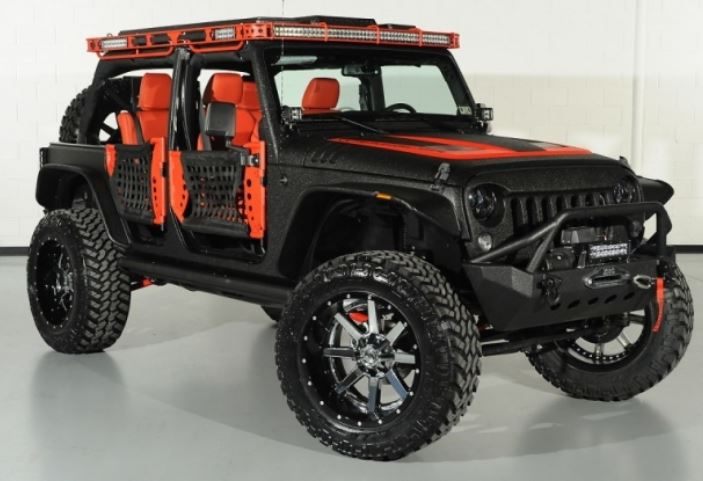 Custom Paint Job for Your Jeep Wrangler 2