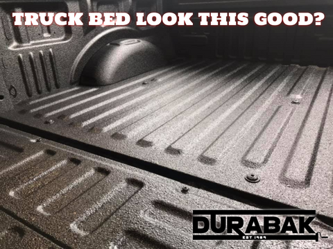 does your truck bed look this good durabak spray in diy bed liner