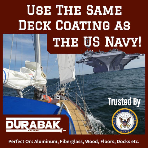 use the same deck coating as the US navy