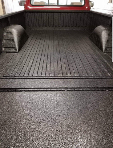 Black textured durabak truck bed liner ford f150