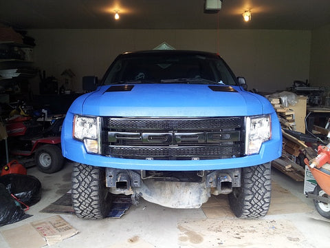 Durabak Bedliner coated Ford Raptor
