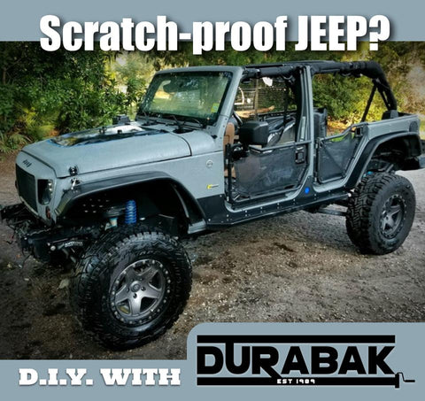 Scratch proof jeep? Durabak