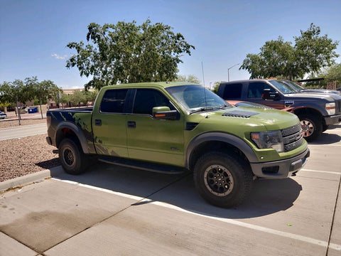 Smooth DIY Car Paint Ford Raptor Smooth OD Green Olive Green paint Roll On