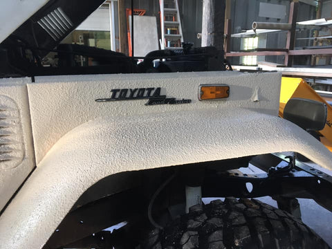 Toyota Bed Liner Exterior Coating
