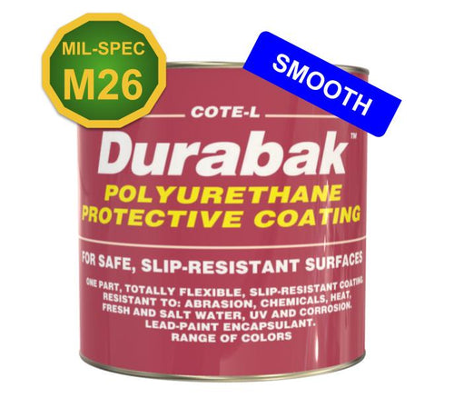 MIL SPEC Military ONLY Durabak M26 Liner Indoor (Smooth) - Durabak Company