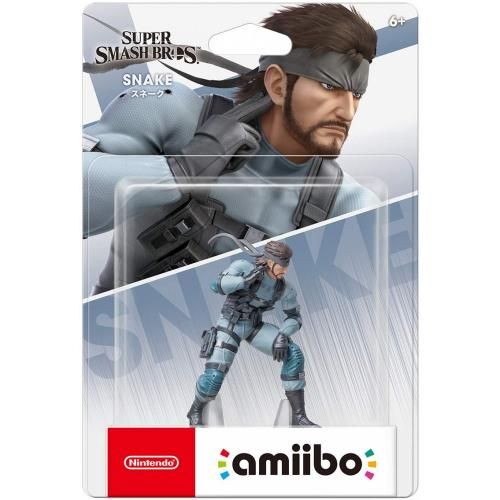 Nintendo Amiibo Super Smash Bros. Series -  Solid Snake For Switch NS