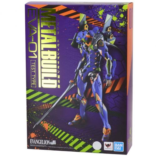 Bandai Metal Build Neon Genesis Evangelion Unit 01 Eva 01 Finished Action Figure - Yasuee