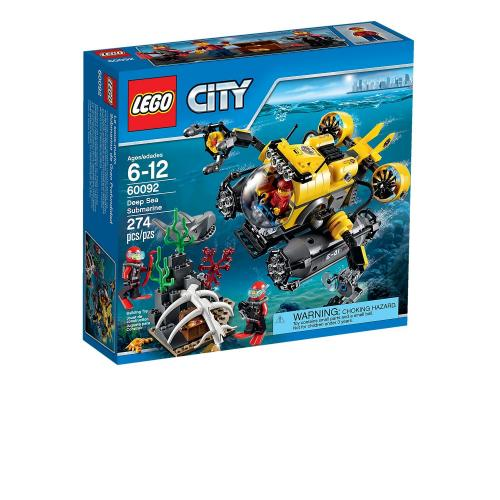 LEGO 60092 City Deep Sea Submarine - Yasuee