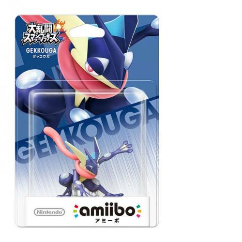 Limited offer Nintendo Amiibo Greninja Super Smash Brothers Switch Wii U Pokemon