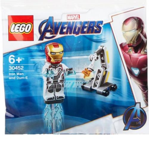 LEGO 30452 Marvel Polybag Iron Man and Dum-E - Yasuee