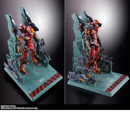 Bandai Metal Build Neon Genesis Evangelion Unit 02 Eva 02 Finished Action Figure