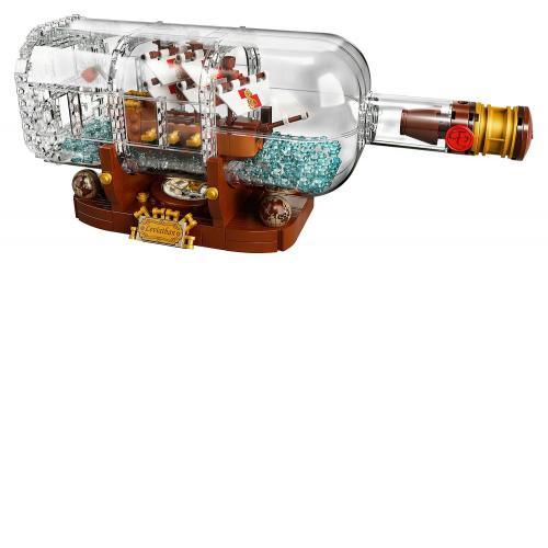 LEGO 21313 Ideas and CUUSOO Ship in a Bottle - Yasuee
