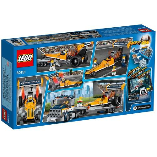 LEGO 60151 City Great Vehicles Dragster Transporter