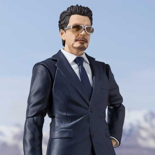 Bandai S.H.Figuarts Ironman Tony Stark -《Birth of Iron Man》EDITION-