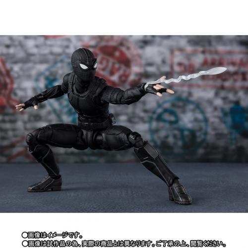 Bandai S.H.Figuarts Spider-Man Far From Home Spider Man Stealth Suit SHF Figure