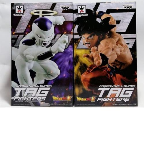 Banpresto Dragon Ball Z Super Tag Frighters Son Gokou + Freeza Figure Set - Yasuee