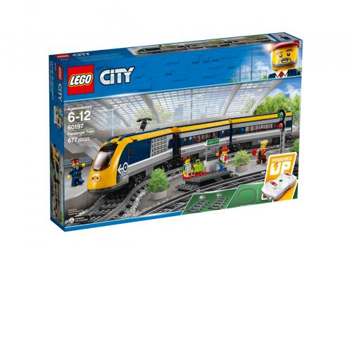 LEGO City Passenger Train 60197 Building Kit (677 Pieces) - Yasuee