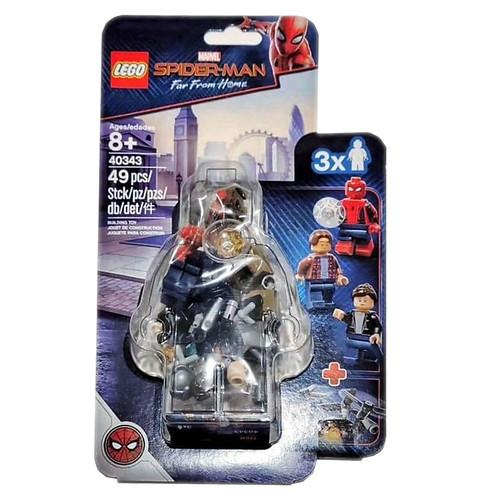 LEGO 40343 Marvel Super Heroes Spider-Man Far From Home: Spider-Man and the Museum Break-In - Yasuee