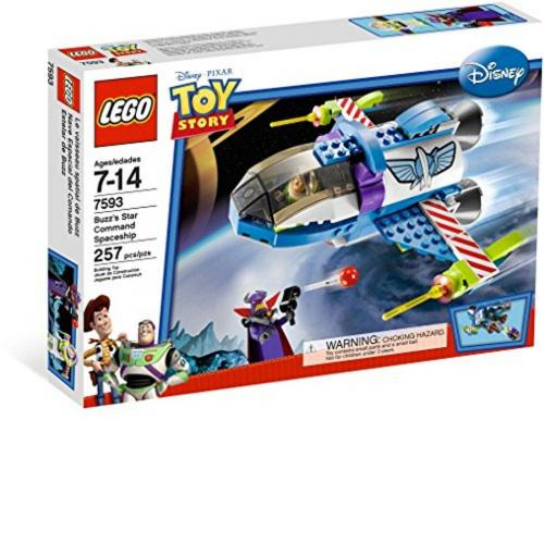 LEGO 7593 Disney Toy Story Buzz's Star Command Spaceship - Yasuee