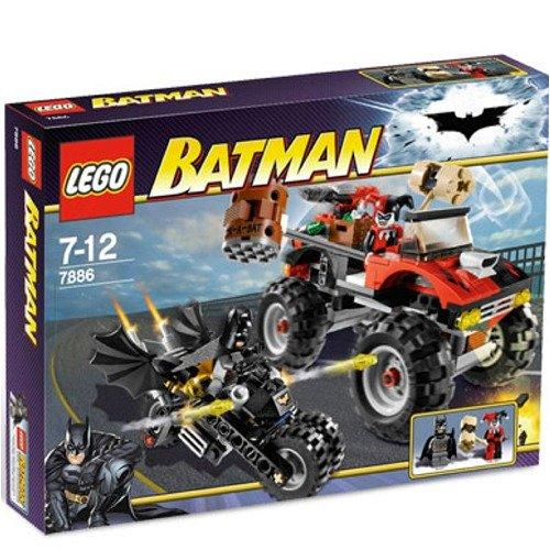 LEGO 7886 Batman The Batcycle Harley Quinn's Hammer Truck - Yasuee