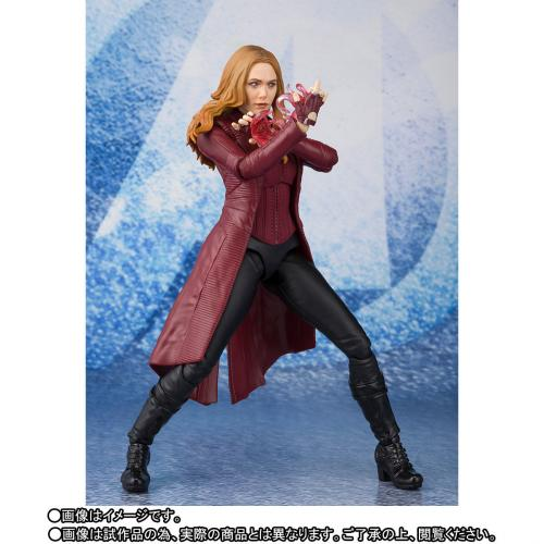 Bandai S.H.Figuarts Scarlet Witch (The Avengers 4 Endgame Ver) SHF Action Figure