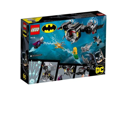 LEGO 76116 Super Heroes Batman Bat Sub and the Underwater Clash - Yasuee