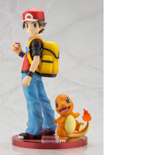 "Kotobukiya ARTFX J ""Pokemon"" Series Red with Charmander 1/8 Complete Figure"
