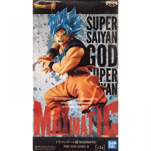 Bandai Dragon Ball Super Maxmatic Super Saiyan God Super Saiyan Goku Figure