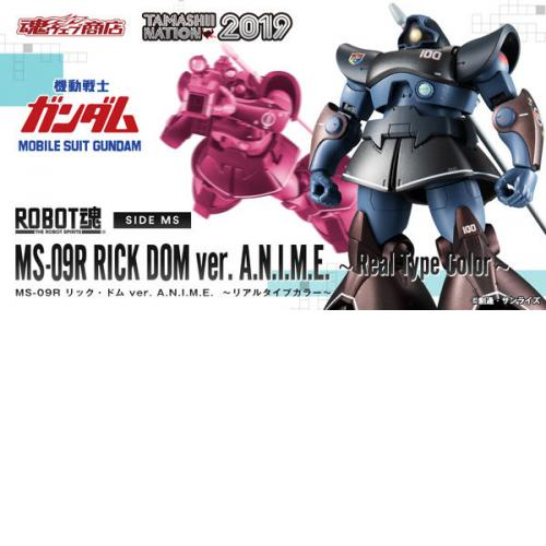 Bandai Robot Spirits - SIDE MS Rick Dom Ver. A.N.I.M.E. - Real Type Color
