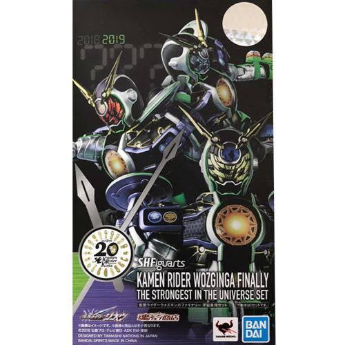 Bandai S.H.Figuarts Kamen Rider Woz Ginga Finally Strongest In The Universe Set