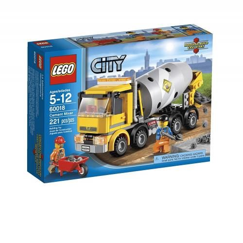 LEGO 60018 City Cement Mixer