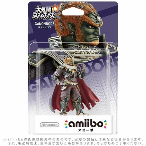 Limited offer Nintendo Amiibo Ganon Super Smash Bros. GANONDORF Switch Wii U