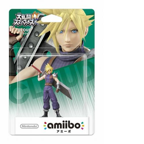 Limited offer Nintendo Amiibo Cloud  Super Smash Brothers Switch Wii U FFVII
