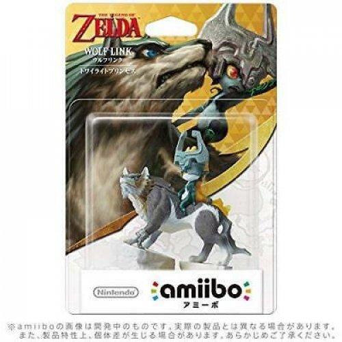 Limited offer Nintendo Amiibo Wolf Link Midna Legend Zelda Breath Wild Switch