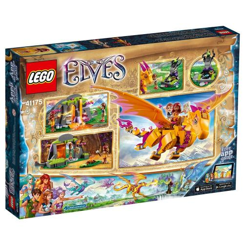 LEGO 41175 Creative Play Elves Fire Dragon's Lava Cave