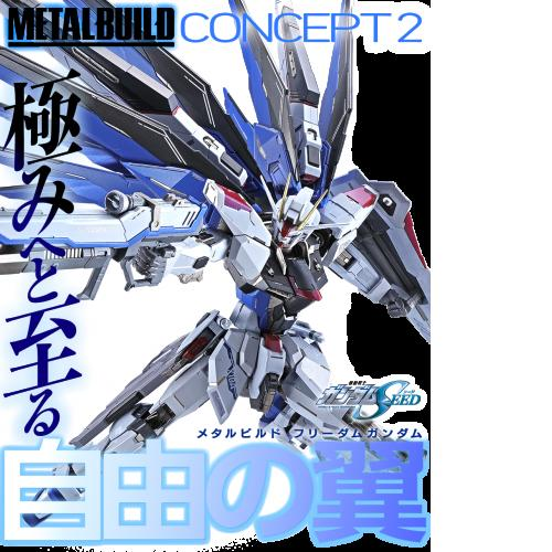 Bandai Metal Build MB Freedom Gundam Concept 2