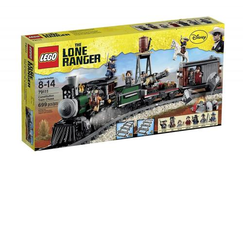 LEGO 79111 Disney The Lone Ranger Constitution Train Chase - Yasuee