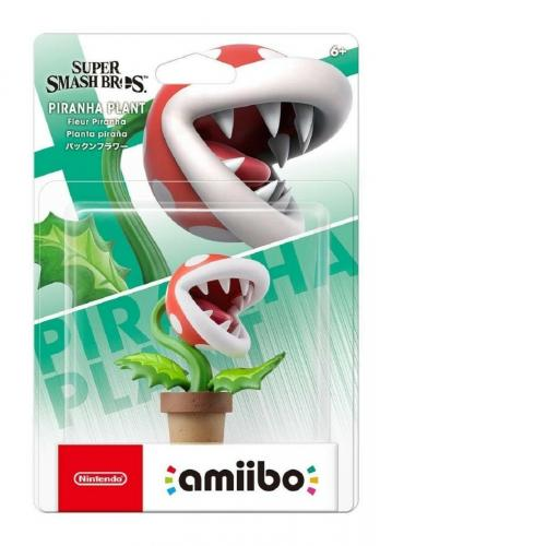[Limited offer] Nintendo Amiibo PIRANHA PLANT of Super Smash Bros SSB Japan NEW