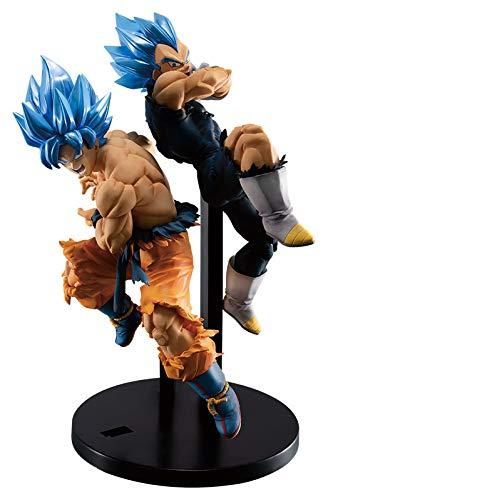 Banpresto Dragon Ball Super Tag Fighters SSGSS Gokou & Vegeta Set for 2 - Yasuee