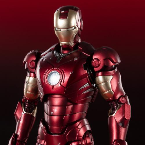 Bandai S.H.Figuarts Marvel Iron Man Mark 3 MK3《Birth of Iron Man》Edition